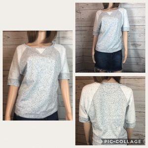 Calvin Klein short Sleeve Sweatshirt Small #0361